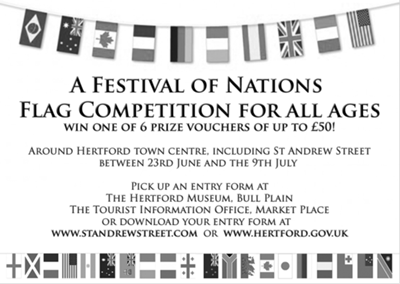 town flag comp flyer